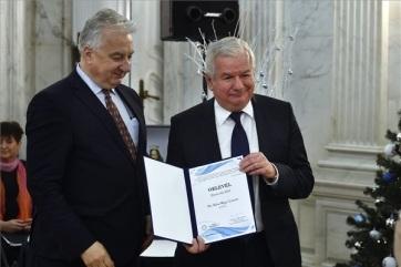 Kiss-Rigó László szeged-csanádi püspök kapta az idei Duna-díjat - A cikkhez tartozó kép