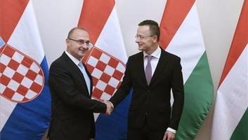 Szijjártó: Sok kérdésben szövetséges Magyarország és Horvátország - illusztráció