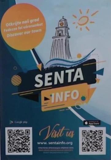 """Aplikacija """"Senta info"""" za sve turiste - A cikkhez tartozó kép"""
