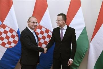 Sijarto: Mađarska i Hrvatska su saveznici po mnogim pitanjima - A cikkhez tartozó kép
