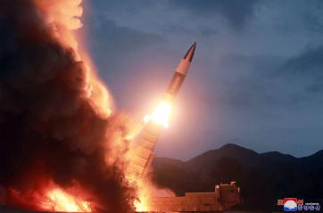 """Újabb """"kulcsfontosságú tesztet"""" hajtott végre Észak-Korea - A cikkhez tartozó kép"""