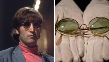 A becsült ár közel húszszorosáért adták el John Lennon legendás napszemüvegét - illusztráció