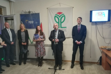 Nyolcadik évfordulóját ünnepelte a VMSZ belgrádi városi szervezete - A cikkhez tartozó kép