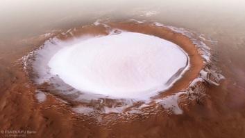 Néhány centiméter mélyen víz lehet a Marson - illusztráció