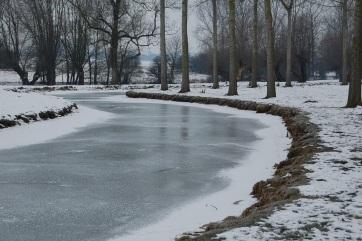 A klímaváltozás miatt ritkábban fognak befagyni a folyók, súlyos következményei lesznek - A cikkhez tartozó kép