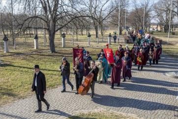 Szent Vince-napi ünnepség Ópusztaszeren: Bőséges szőlőtermést jósoltak - A cikkhez tartozó kép