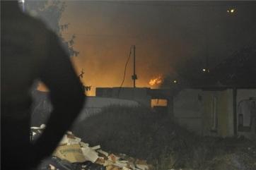 Több épület kigyulladt Budapesten - A cikkhez tartozó kép