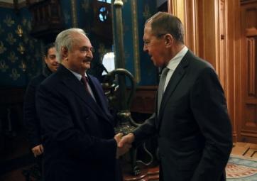 Lavrov: Haladás történt a líbiai tűzszüneti megállapodás ügyében, de Haftar időt kért - A cikkhez tartozó kép