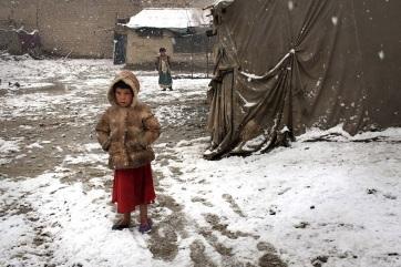 Szedi áldozatait a zord tél Afganisztánban és Pakisztánban - A cikkhez tartozó kép
