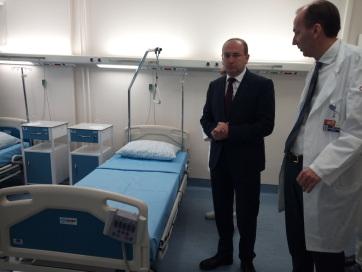 Felújították a kamenicai szívgyógyászati klinikát - A cikkhez tartozó kép