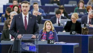 Plenković: Hrvatska se nada da će u ime EU moći započeti pregovore o pristupu sa Albanijom i Severnom Makedonijom - A cikkhez tartozó kép