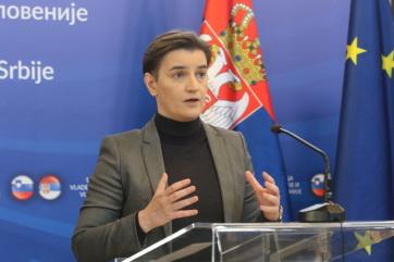 Brnabić: Szerbiában első alkalommal csökkent 10 százalék alá a munkanélküliség - A cikkhez tartozó kép