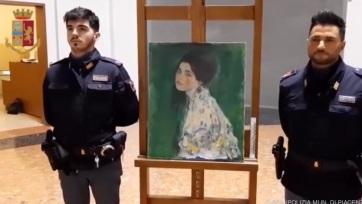 Előkerült egy ellopott Klimt-festmény - A cikkhez tartozó kép