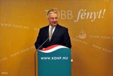 Újra Semjén Zsoltot választották a KDNP elnökévé - A cikkhez tartozó kép