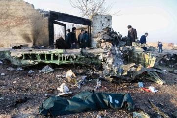 Hazaszállították Ukrajnába az Iránban lelőtt utasszállító ukrán áldozatainak maradványait - A cikkhez tartozó kép