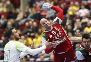 Férfi kézilabda Eb: A magyar csapat legyőzte Szlovéniát - A cikkhez tartozó kép