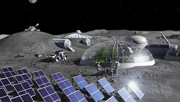 Holdporból nyernének ki oxigént az ESA kutatói - illusztráció