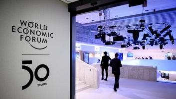 Az ötvenedik Világgazdasági Fórum Davosban - illusztráció