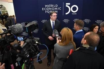 Vučić: Elegem van a kioktatásból a moszkvai és pekingi kapcsolataink miatt - A cikkhez tartozó kép