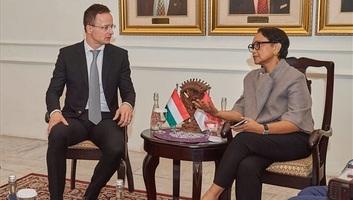 Szijjártó Péter: Indonézia és Magyarország ötszázmillió dolláros közös befektetési alapot hoz létre - illusztráció