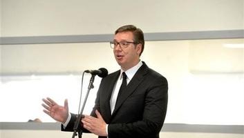 Vučić: Nehéz a helyzet, de sem Szerbiának, sem Montenegrónak nincs szüksége összetűzésre - illusztráció
