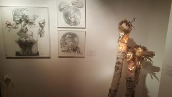 Likovna umetnost bez granica: Izložba mladih umetnika iz Vojvodine i Slovačke u Subotici - illusztráció