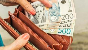 A novemberi átlagbér 56 331 dinár volt Szerbiában - illusztráció