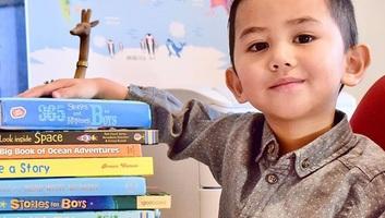 Hároméves a legmagasabb IQ-sok klubjának legfiatalabb tagja - illusztráció