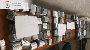 Súlyos beteg lehetett a szerb sofőr: 173 ezer gyógyszert vitt magával - A cikkhez tartozó kép