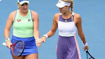 Australian Open: Babos Tímeáék párosban bejutottak a nyolcaddöntőbe - illusztráció