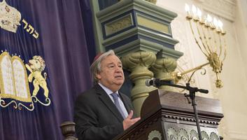 Generalni sekretar UN upozorava na globalno širenje antisemitizma - illusztráció