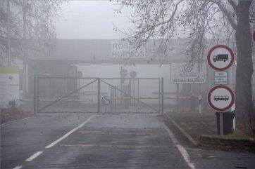 Határsértők próbáltak áttörni a röszkei közúti átkelőnél - A cikkhez tartozó kép