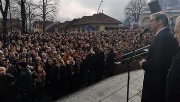 Vučić a boszniai Szerb Köztársaságba utazott: Előbb Mrkonjić gradba, majd Drvarba látogat - illusztráció