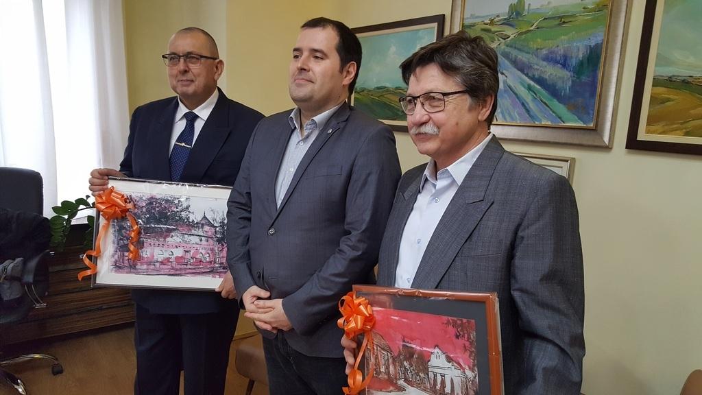 Dr. Kaszás Károly, Fejsztámer Róbert és Tóth Vilmos
