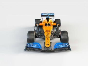 F1: A McLaren is bemutatta 2020-as autóját - A cikkhez tartozó kép