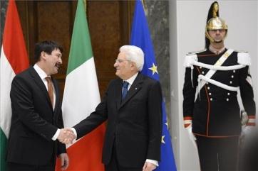 Áder: Az Európai Unió hitelessége múlik a bővítési folyamat felgyorsításán - A cikkhez tartozó kép