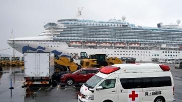 Megállíthatatlannak tűnik a koronavírus a Diamond Princess fedélzetén - A cikkhez tartozó kép