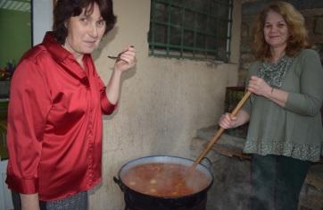 Bácskossuthfalva: Disznótoros étkek kóstolója - A cikkhez tartozó kép