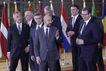 A kapcsolatok mélyítéséről tárgyaltak az EU és a Nyugat-Balkán vezetői - A cikkhez tartozó kép