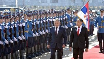 Belgrádban tárgyal az orosz védelmi miniszter - illusztráció