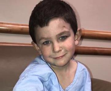 Ötéves kisfiú mentette ki családját az égő házból - A cikkhez tartozó kép