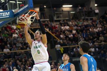 Férfi kosárlabda Eb-selejtező: A magyar csapat legyőzte Szlovéniát - A cikkhez tartozó kép