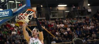 Férfi kosárlabda Eb-selejtező: A magyar csapat legyőzte Szlovéniát - illusztráció
