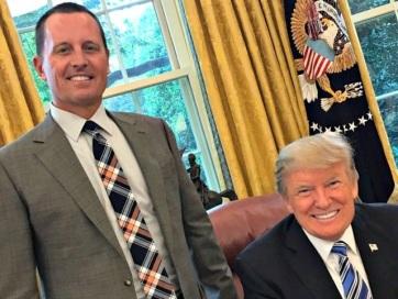 Trump csak átmeneti időszakra jelöli Richard Grenellt a DNI igazgatójának - A cikkhez tartozó kép
