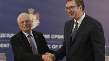 Vučić telefonon beszélt Josep Borrell-lel - illusztráció
