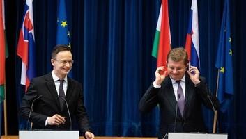 Sijarto: Nikada još nije bilo istovremeno toliko zajedničkih graditeljskih poduhvata između Mađarske i Slovačke kao danas - illusztráció