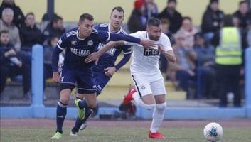 Labdarúgás: Döntetlent játszott a TSC a Partizannal Zentán - illusztráció