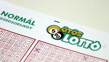 A magyar ötös lottó fődíja több mint ötmilliárd forint - illusztráció