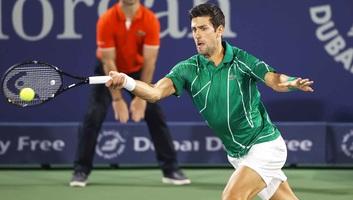 Tenisz: Đoković továbbjutott, Fucsovocs viszont kiesett Dubajban - illusztráció