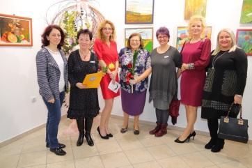 Nők tárlatát szervezte meg Magyarkanizsán a Vajdasági Képzőművészeti Kör - A cikkhez tartozó kép
